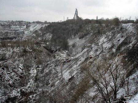 Дореволюційний кар'єр №2 РУ Шмаковського, балка Суслова, м. Кривий Ріг