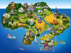 Тенденції розвитку туристичної індустрії економічних районів України