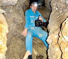 У печері «Млинки»