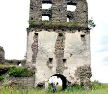 Руїни Свято-Спаського василіанського монастиря