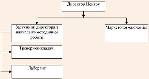 Організаційна структура Центру