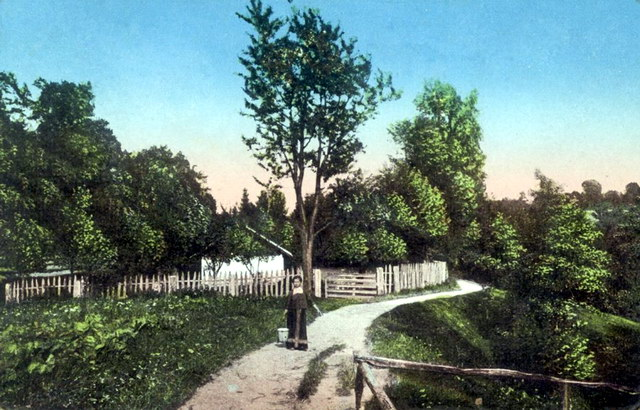Трускавець. Історична частина села - Городище, початок ХХ ст.