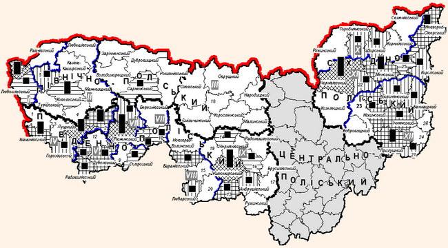 Економіко-рекреаційне районування території Полісся