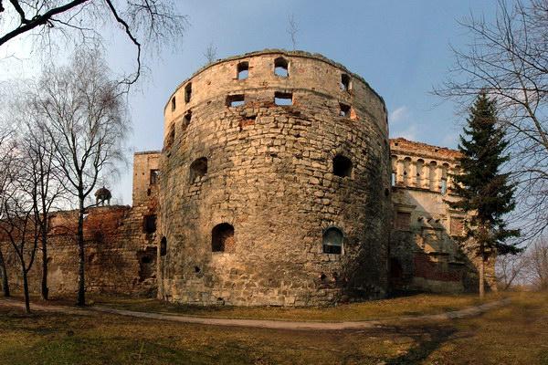 Замок Сенявських в Бережанах