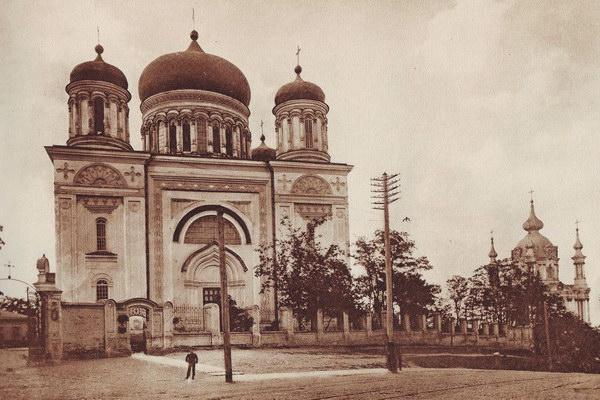Десятинна церква у 1911 році