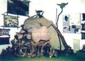 Реконструкція палеолітичного житла
