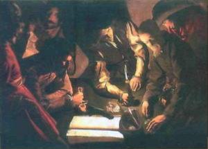 Жорж де Латур. Розрахунок. Перед 1620