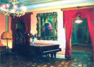 Один із залів музею Соломії Крушельницької