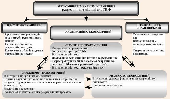 Місце організаційно-економічного механізму в системі управління