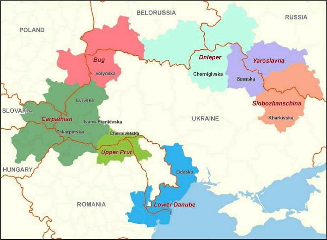 Транскордонні кластери України