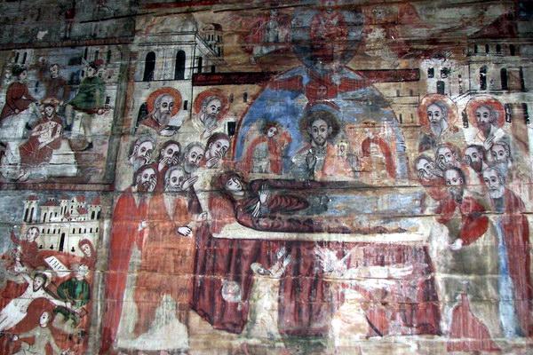 іконостас і стінопис у Церкві Святого Духа