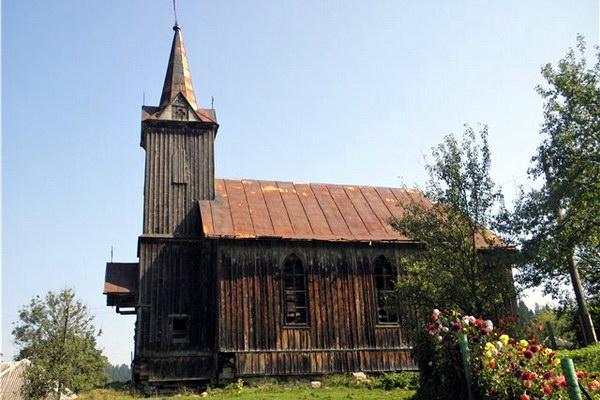 Костел святого Франциска Боргяша у с. Розлуч