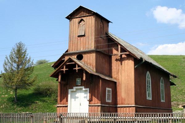 Храм святого Миколи Чарнецького в с. Вовче