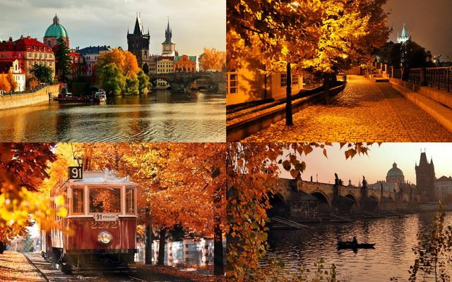 осіння Прага