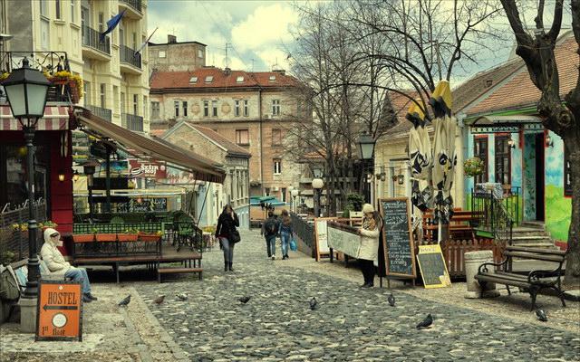 Белград восени