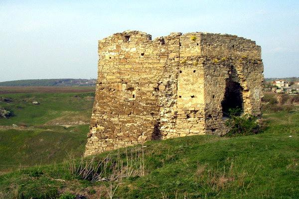 рештки замку Калиновських