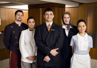 персонал підприємства індустрії гостинності