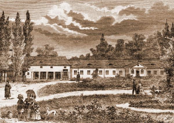 Курорт Великий Любінь наприкінці XVIII ст.