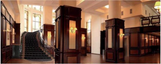 Дизайн інтер'єру готелю Дніпро