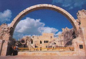 Руїни великої синагоги в Єврейському кварталі Старого Єрусалима
