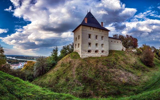 місто Галич, Галицький замок