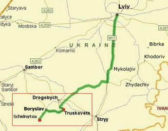 Трускавецько-Східницький рекреаційний регіон