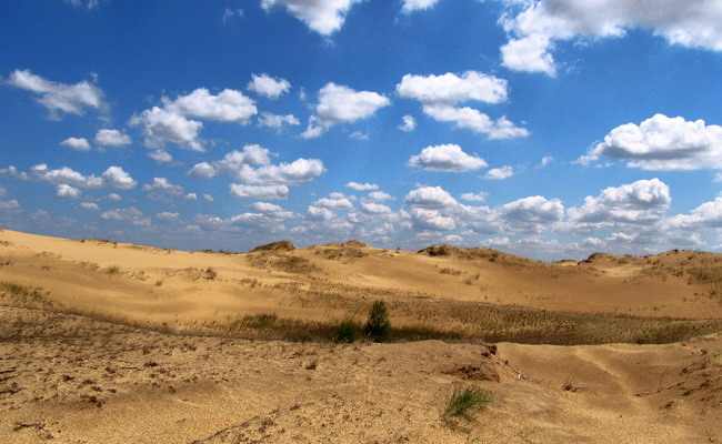 Олешківські піски - Європейська Сахара
