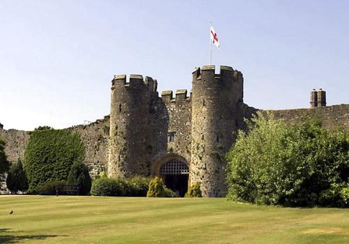 Замок Амберлі